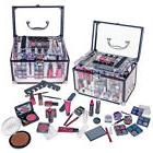 New Complete Beauty Cosmetic Makeup Starter Kit Box Trunk Be