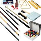 Pool Table - Premium Billiard 32 Pieces Accessory Kit - Pool