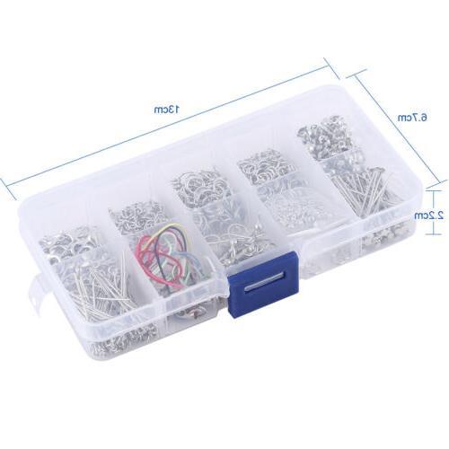 Jewelry Making Findings Starter Kit in Silver Plus Bead Boar