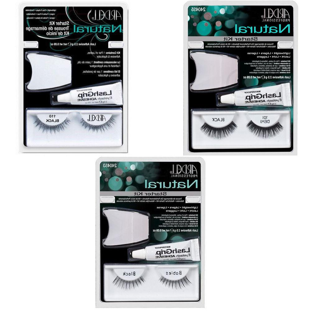 professional lashes natural starter kit pack of