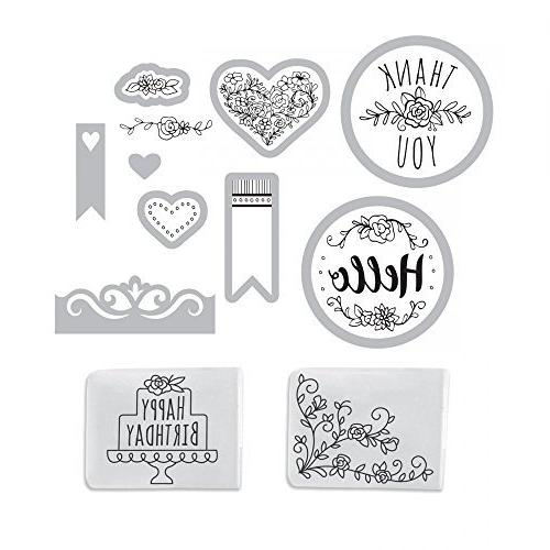 Sizzix Starter - with Embossing Folders, Dies Item 661770