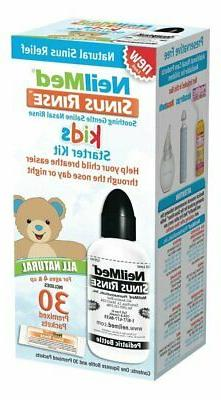 NeilMed Sinus Rinse Pediatric Starter Kit, 30 Count