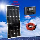 Solar Starter Kit: 100W 100 Watt PV Solar Panel 12V RV Boat