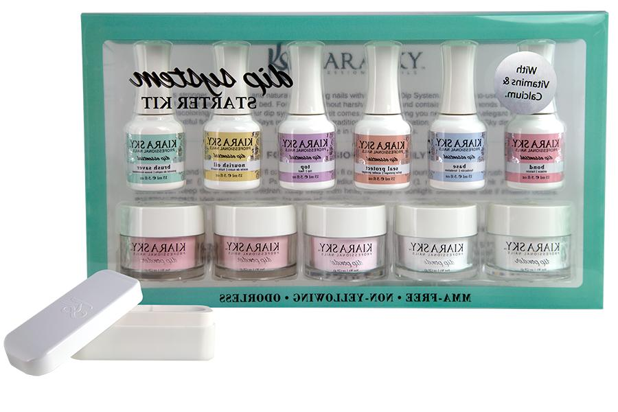 Kiara Sky Starter or Kit Nail Prep for Dip