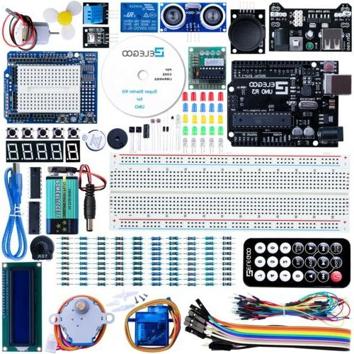 uno r3 project super starter kit used