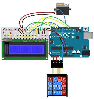 Professional UNO Starter Kit for Arduino LCD Compass