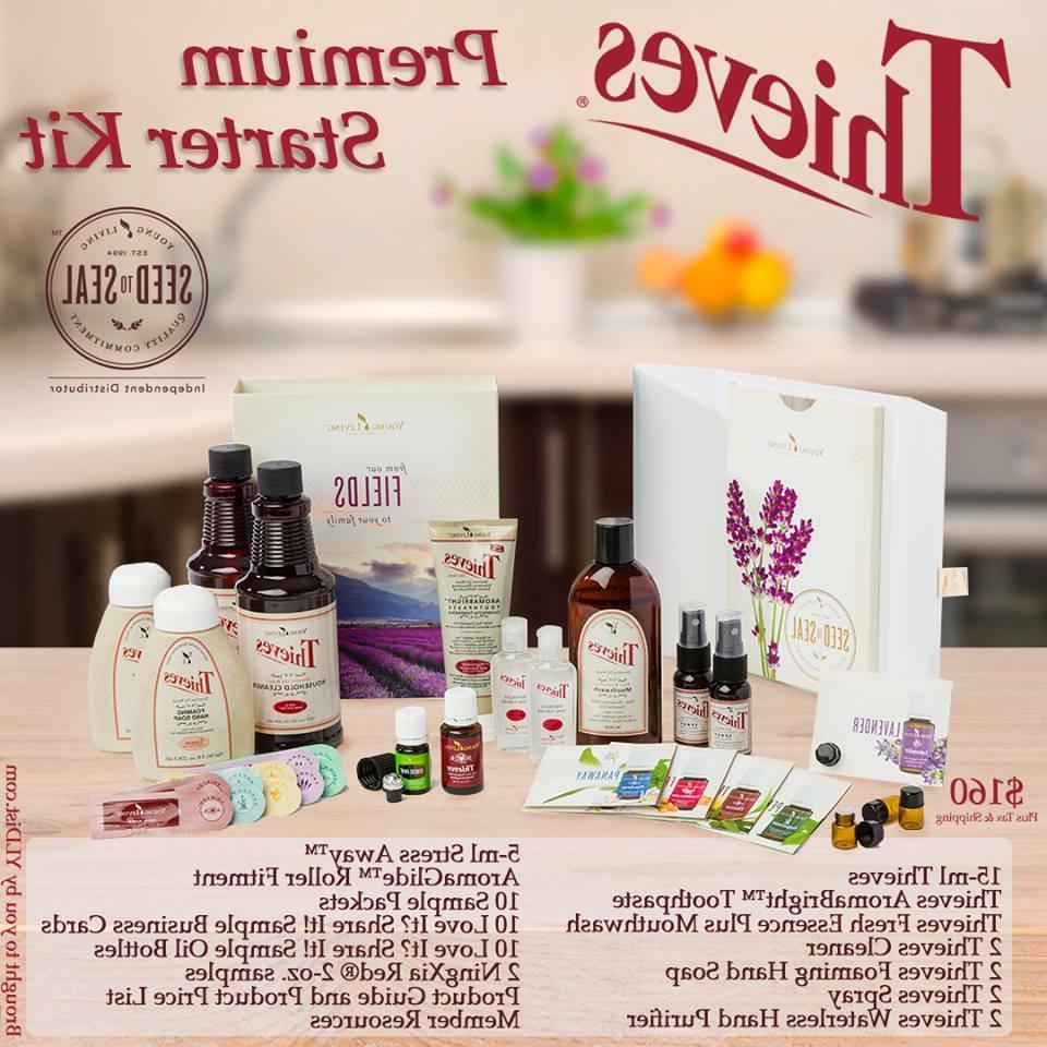 Young Living Starter Kit with Thieves~ Essential Oils Clean