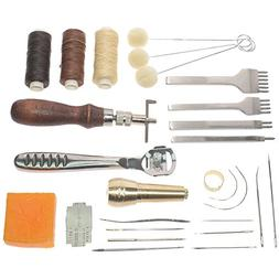 leather craft basic stitching sewing hand tool