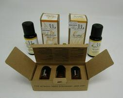 Lot of 3 - Ellia Essential Oils  Starter Kit, Mandarin, Open