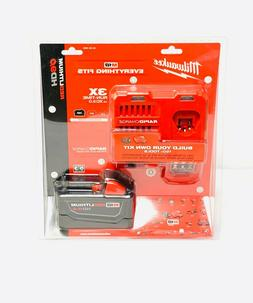 M18 Redlithium Battery Starter Kit Milwaukee Misc Power Tool