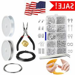 Jewelry Making Supplies Accessories Tools Kit Findings Lot C