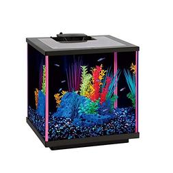 "Aqueon NeoGlow LED Aquarium Kit Pink, 5.5 gallon/17"" L x 9"""