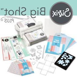 New Die Cutting Machine From Sizzix Starter Kit With Everyth