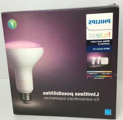 NIB Philips Hue White and Color ambiance BR30 Starter Kit. F