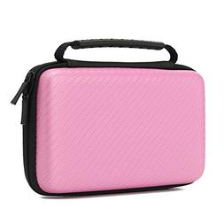 Nintendo 2DS XL Case, EVA Hard Cover Handle Bag For Nintendo