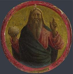 Oil Painting 'Italian Florentine God The Father ' Printing O