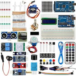 Osoyoo 2017 Complete Ultimate Starter Kit for Arduino with M
