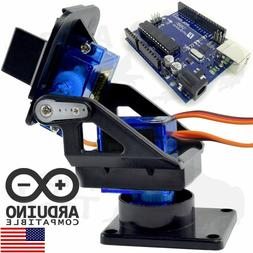 Arduino Pan & Tilt Mounting Kit with Funduino UNO R3 - Robot