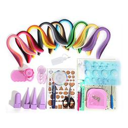 YURROAD Paper Strips Quilling Tools Kit, 18 Kinds Tools and