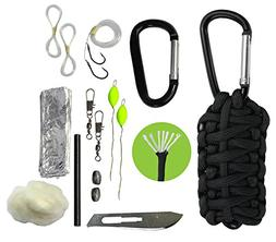 Paracord Grenade Survival Kit with Carabiner by Survival Fro