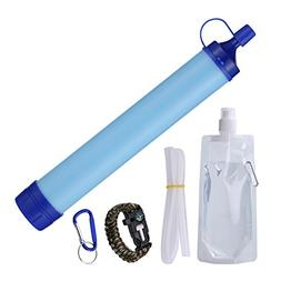 Personal Water Filter Filtration Straw Purifier Survival Gea