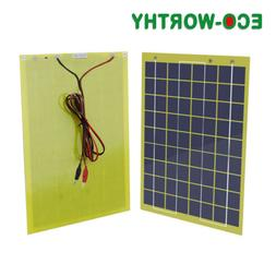 5W 10W 20W 100W Portable Solar Panel Battery Charge Backup C