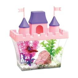 Aqueon Princess Castle Aquarium Starter Kit
