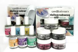 Cuccio PRO Powder POLISH DIPPING - STARTER KIT - Made in USA