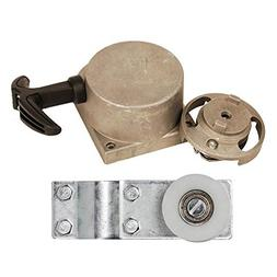 pulley chain tensioner bracket with alloy pull