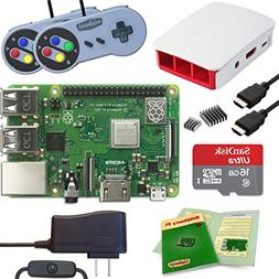 Viaboot Raspberry Pi 3 B+ Gaming Kit — Official 16GB Micro