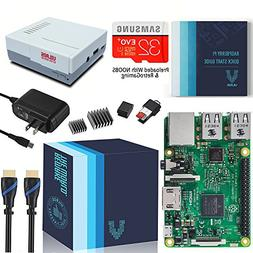 Vilros Raspberry Pi 3 Complete Starter Kit With Retro Gaming