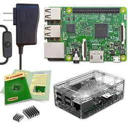 Viaboot Raspberry Pi 3 Power Kit — UL Listed 2.5A Power Su