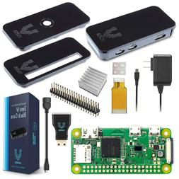 Raspberry Pi Zero W Basic Starter Kit - Black Case Edition B