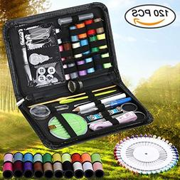 Sewing Kit, LURICO Over 120 Premium Sewing Accessories, 38 C