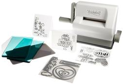 Sizzix Sidekick Starter Kit - White and Gray with Aqua Cutti