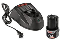 Bosch SKC120-102 12-Volt Max Lithium-Ion Starter Kit with  2