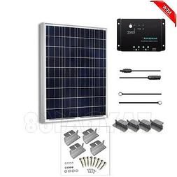 Solar Panel Starter Kit 100W 12V Polycrystalline Power Energ