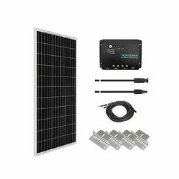 Solar Starter Kit Panels Alternative Renogy 100 Watts 12 Vol