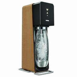 SodaStream Source Starter Kit, Black/Light Wood