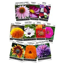 Sow Right Seeds - Flower Seed Garden Collection - Sunflower,