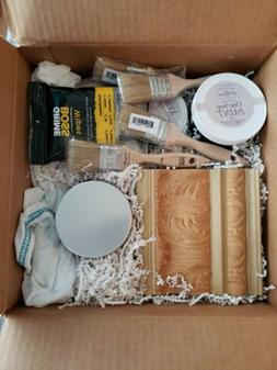 Amy Howard Starter Kit, Black Paint, Wax, Brushes, Dust of A