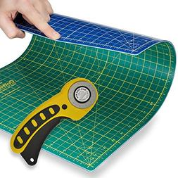 Quilting Starter Kit: Rotary Cutter and Cutting Mat Combo fr
