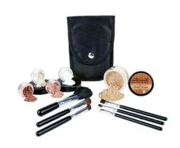 STARTER KIT w/BRUSH SET  Mineral Makeup Bare Skin Matte Foun