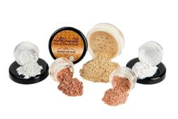 STARTER SET Mineral Makeup Kit Bare Skin Matte Foundation Sh