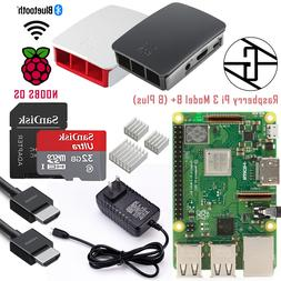 STEADYGAMER - Starter Kit Raspberry Pi 3 B+  - 32GB - Free S