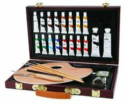 Darice 1103-082 Studio 71, 27 Piece Oil Painting Art Set, Wo