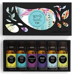 Synergy Blends-  Top 6 Basic Sampler Pack Pure Therapeutic G