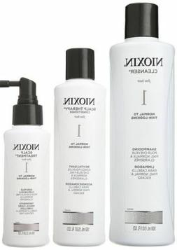 Nioxin System 1 Starter Kit (Shampoo 10.1oz ,Conditioner 5.0