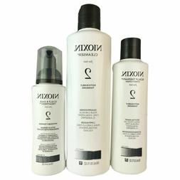 Nioxin System 2 - 3 Piece Kit for Noticeably Thinning Hair