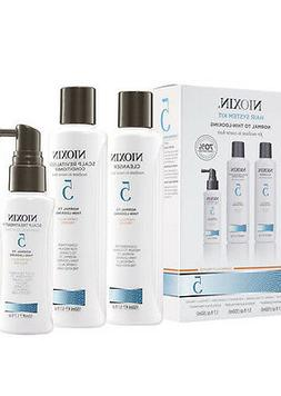 NIOXIN SYSTEM 5 KIT CLEANSER SCALP THERAPY  SCALP TREATMENT!